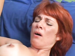 Redhead Mature Cougar Invites BBC For a Fuck