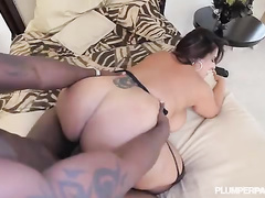 Beautiful plump latina bombshell wife Sofia Rose BBC hardcore
