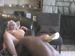 Blonde PAWG wife amateur BBC doggystyle